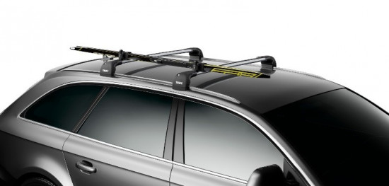 Thule Skiclick 729100 On Roof 6